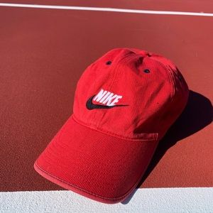 Retro Red Nike Hat